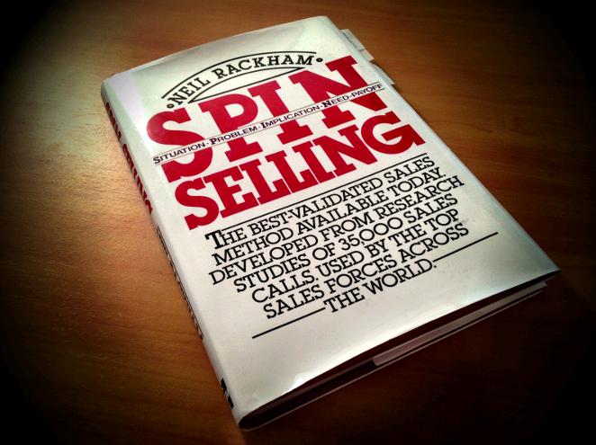 Книга СПИН продажи